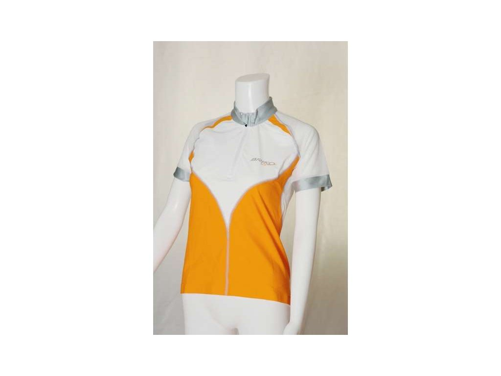 Dres akce Briko Performaniac Bike Lady white/fanta