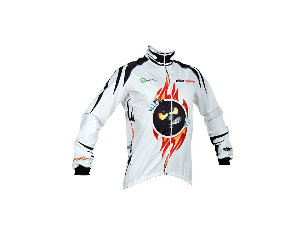 Zimní bunda Wear Gear Mr Explosion White Zero Wind jacket
