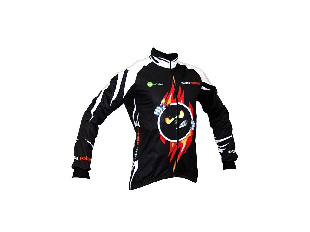 Zimní bunda Wear Gear  Mr Explosion Black Zero Wind jacket