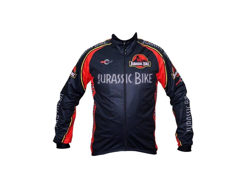 Zimní bunda Wear Gear Jurassic Bike Black Wind jacket