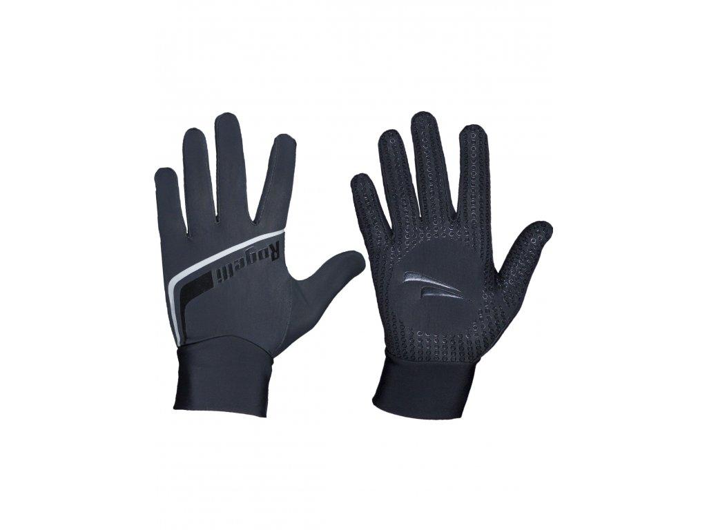 slabe softshellove zimni rukavice s protiskluzovou dlani rogelli burlington cerne original