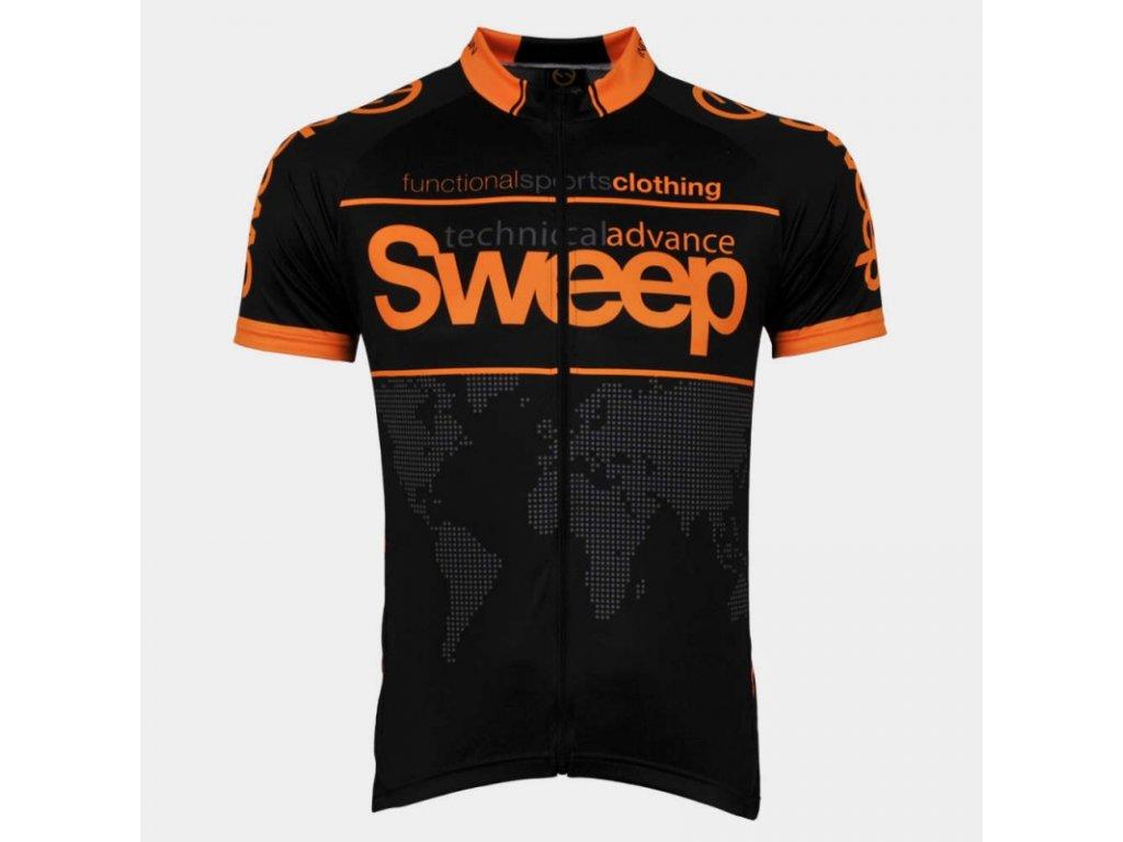 cyklo d010a black orange fluo a