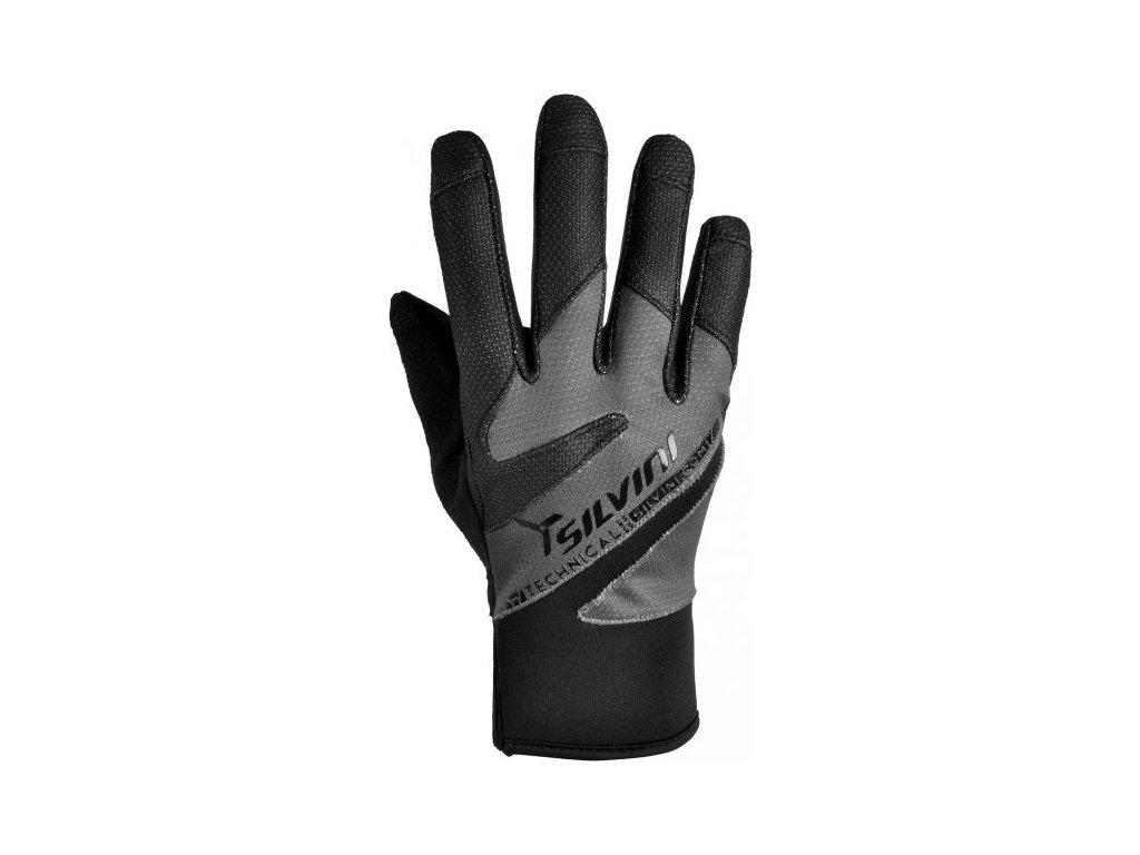 SILVINI dámské rukavice SERRA UA520W black