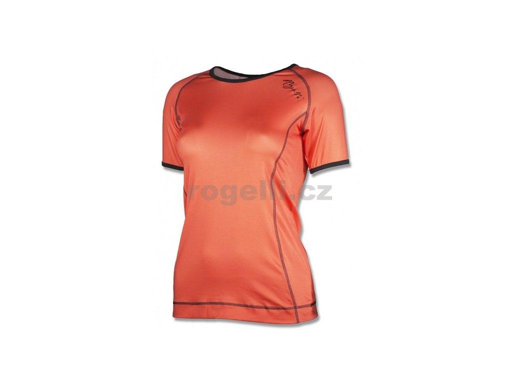 Dámské fitness tričko Rogelli MARCELLA, oranžové