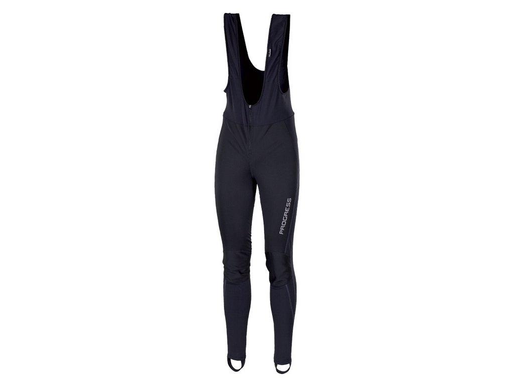 Progress ZEPHYR zimní elastičké kalhoty s kšandami