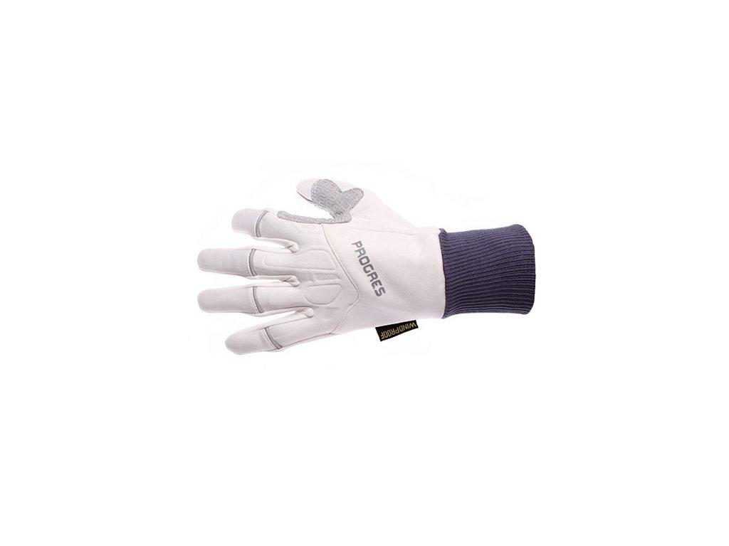 Progress SNOWRIDE GLOVES zimní rukavice bílá