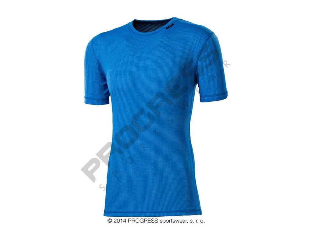 Progress MS NKR pánské funkční tričko s krátkým rukávem sv.modrá