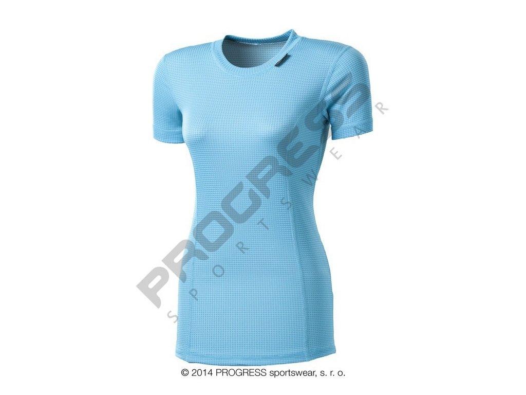 Progress MS NKRZ dámské funkční tričko krátký rukáv vs.modrá