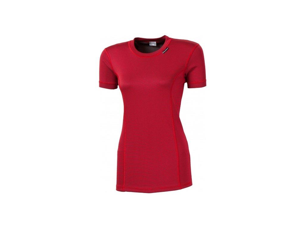 Progress MS NKRZ dámské funkční tričko krátký rukáv bordo