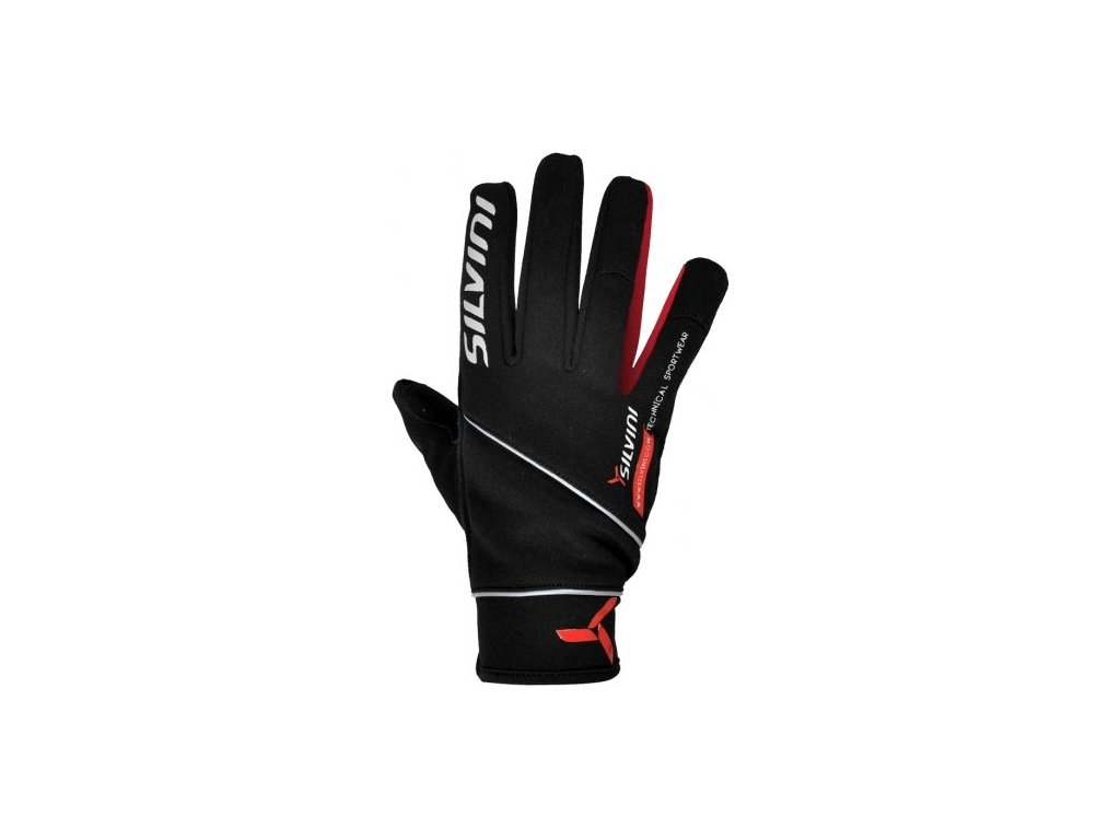 SILVINI rukavice MONTASIO UA442M black-red