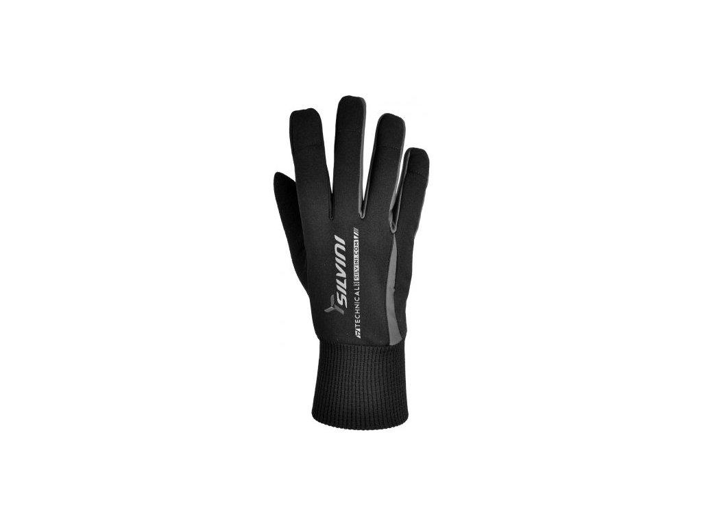 SILVINI pánské rukavice TRELCA UA521M black