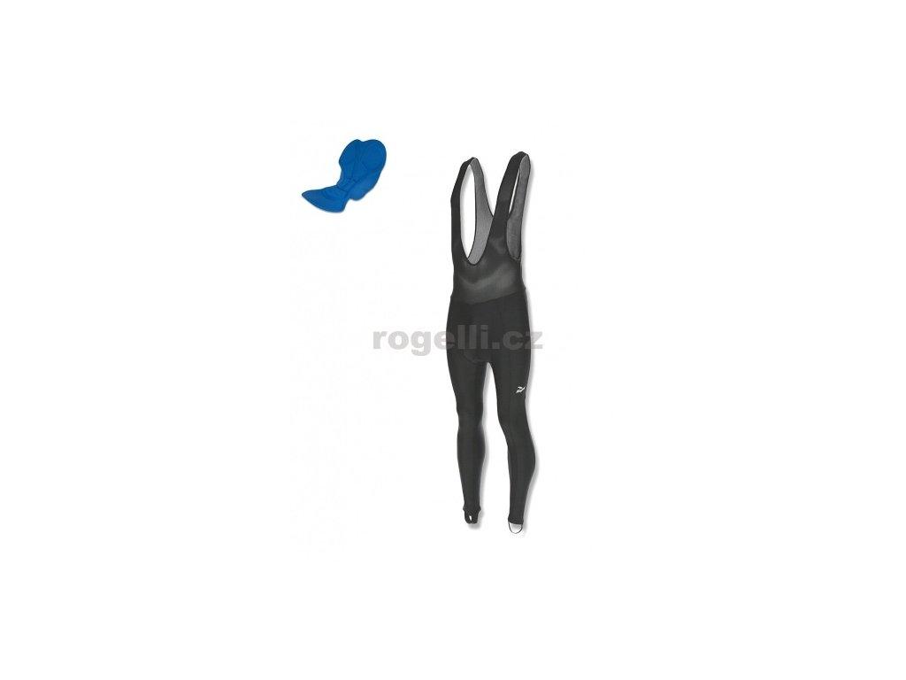 Cyklokalhoty Rogelli BASIC DE LUXE šle, černé