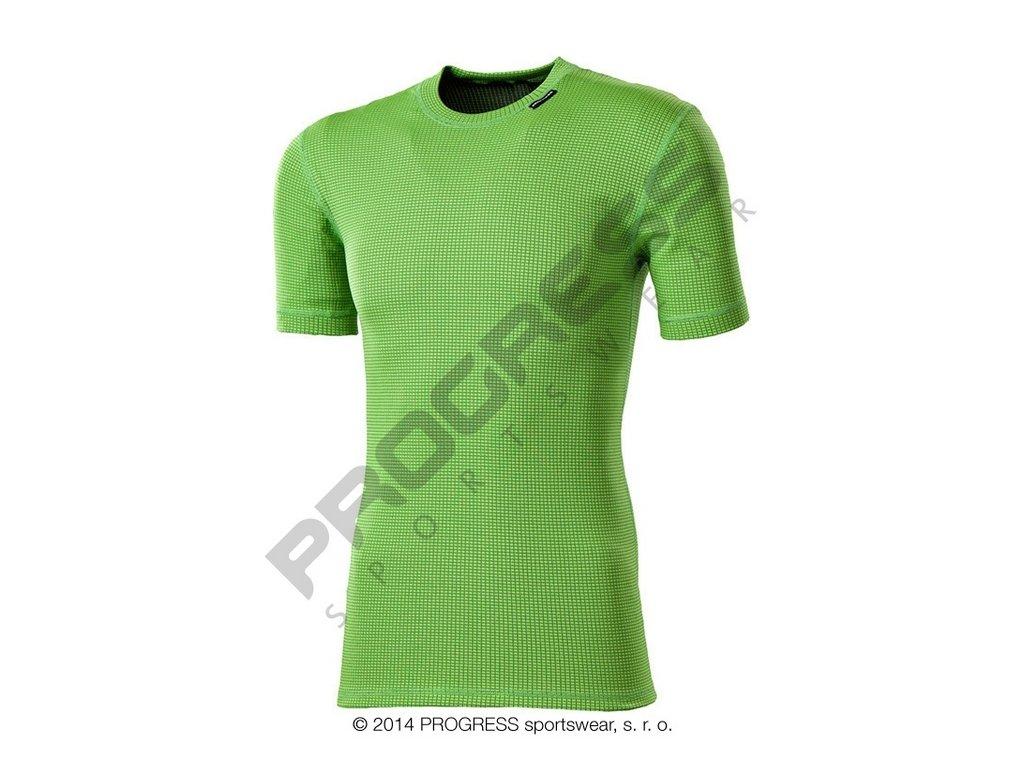 MS NKRD dětské funkční tričko s krátkým rukávem zelená