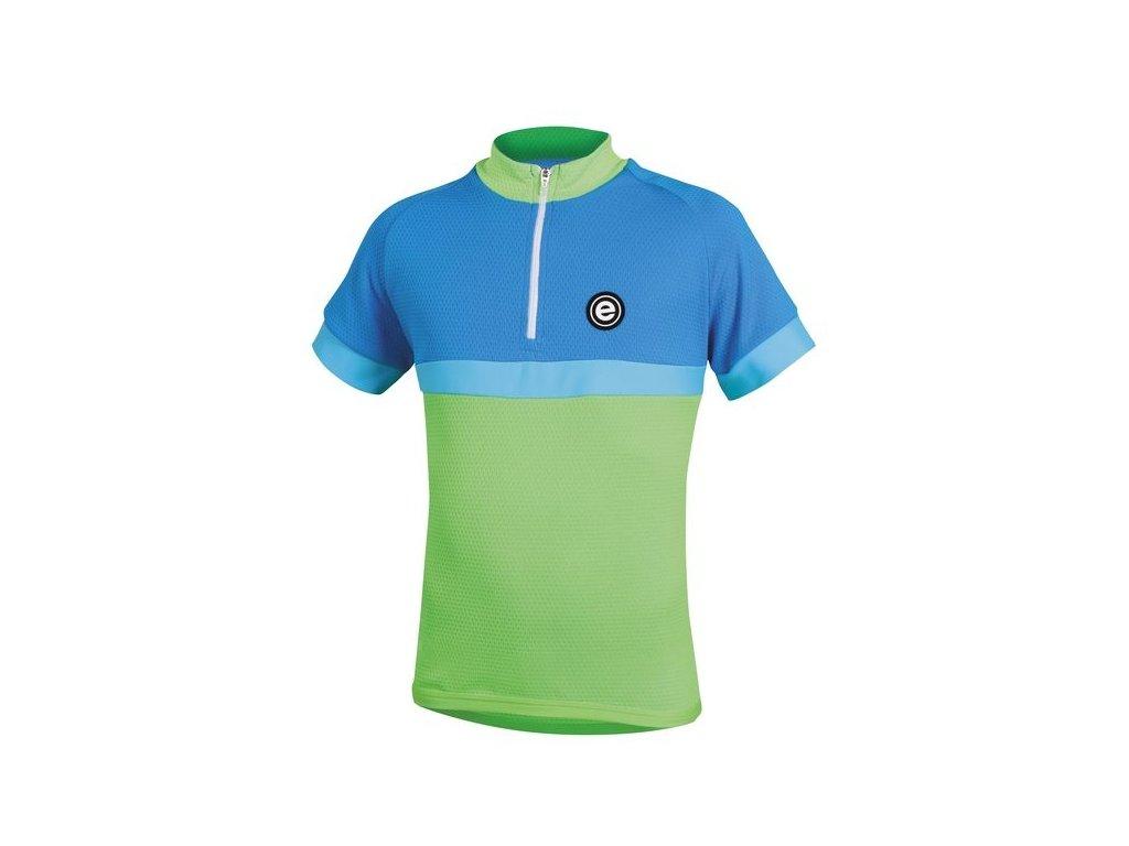Dětský dres Etape Bambino, zelená/modrá