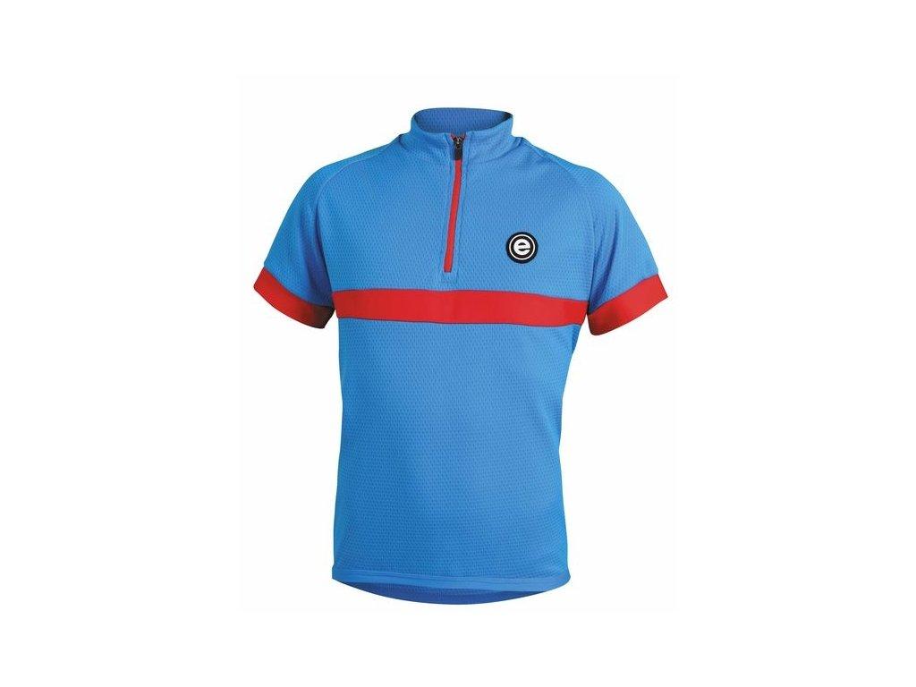 Dětský dres Etape Bambino, modrá/červená