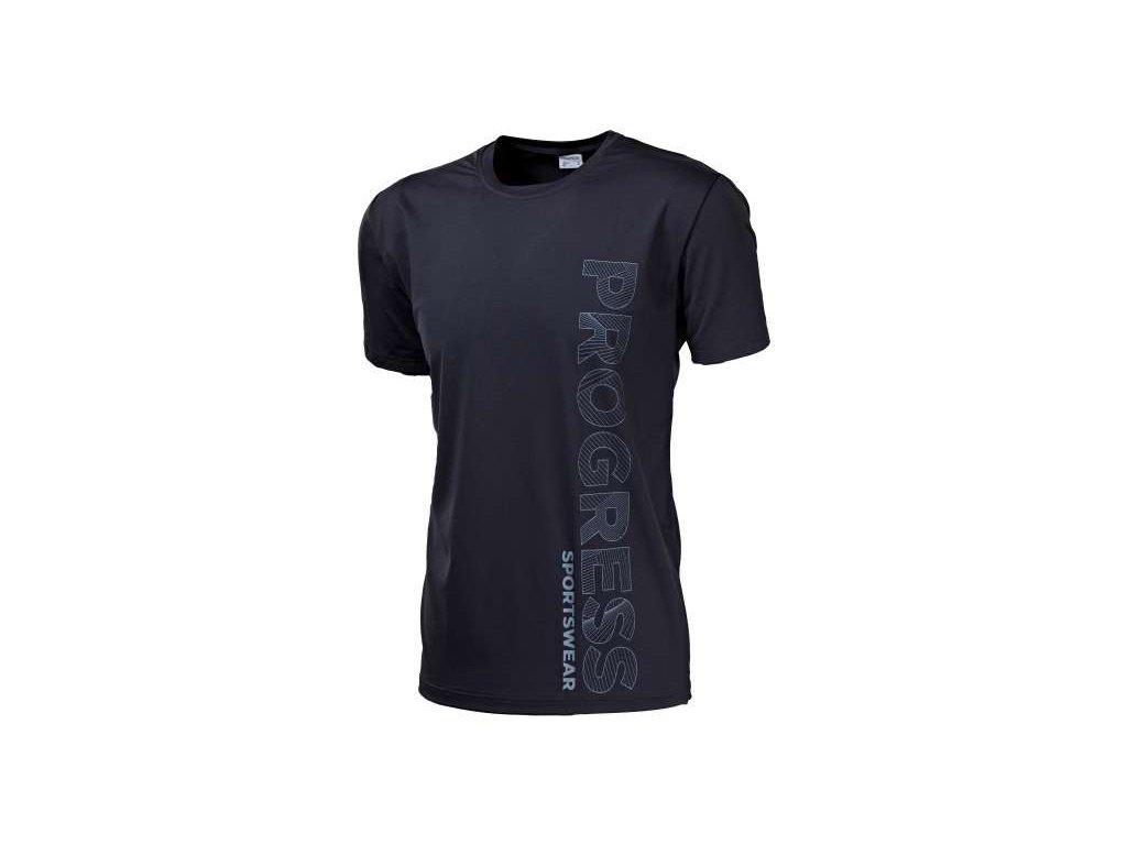 PROGRESS LEROY pánské triko černá