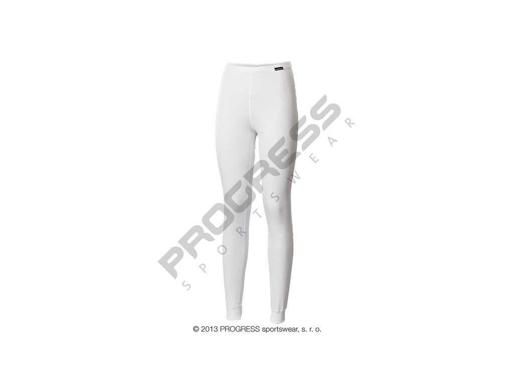PROGRESS MS SDNZ dámské dlouhé spodky bílá