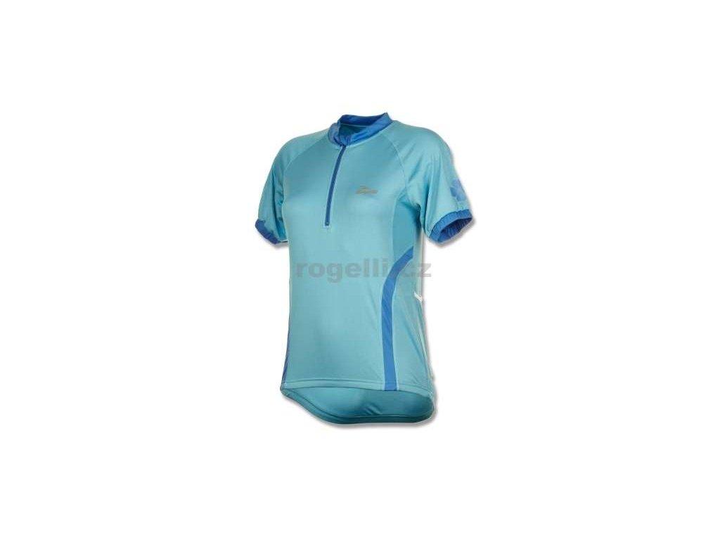 Dámský cyklodres Rogelli CANDY, světle modrý