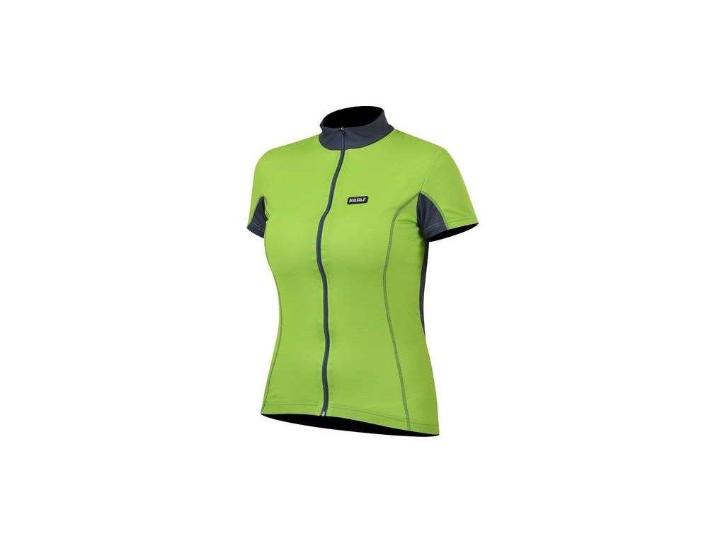 Cyklo dres dámský KALAS BASIC zelený