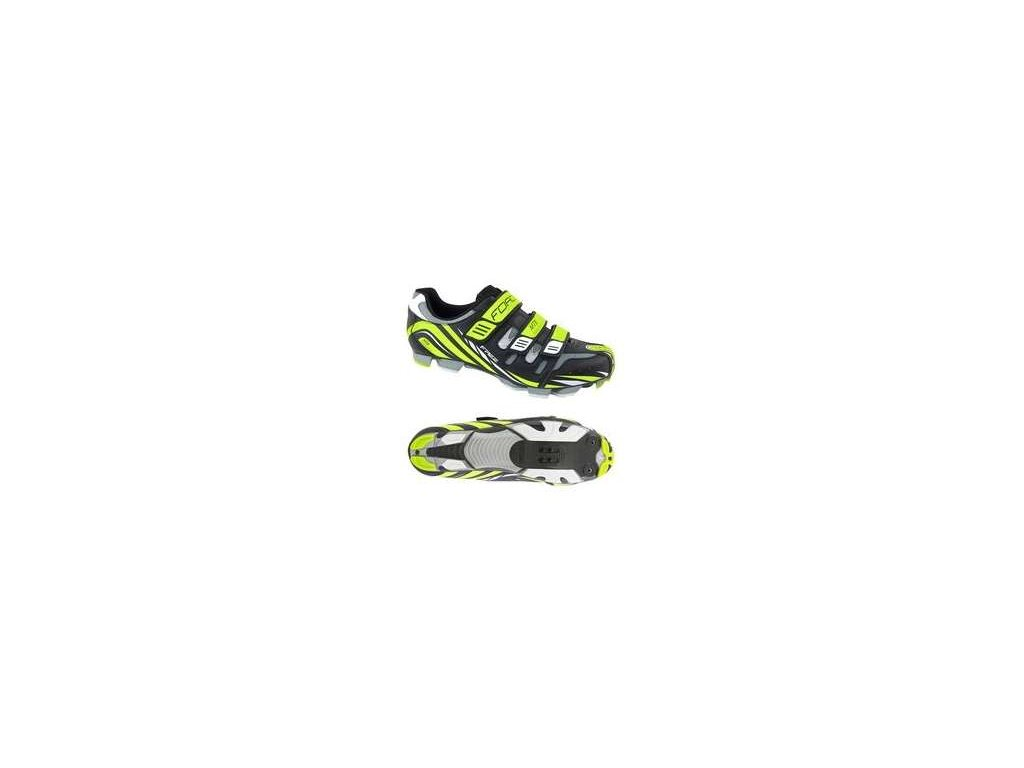 Tretry FORCE MTB FREE fluo