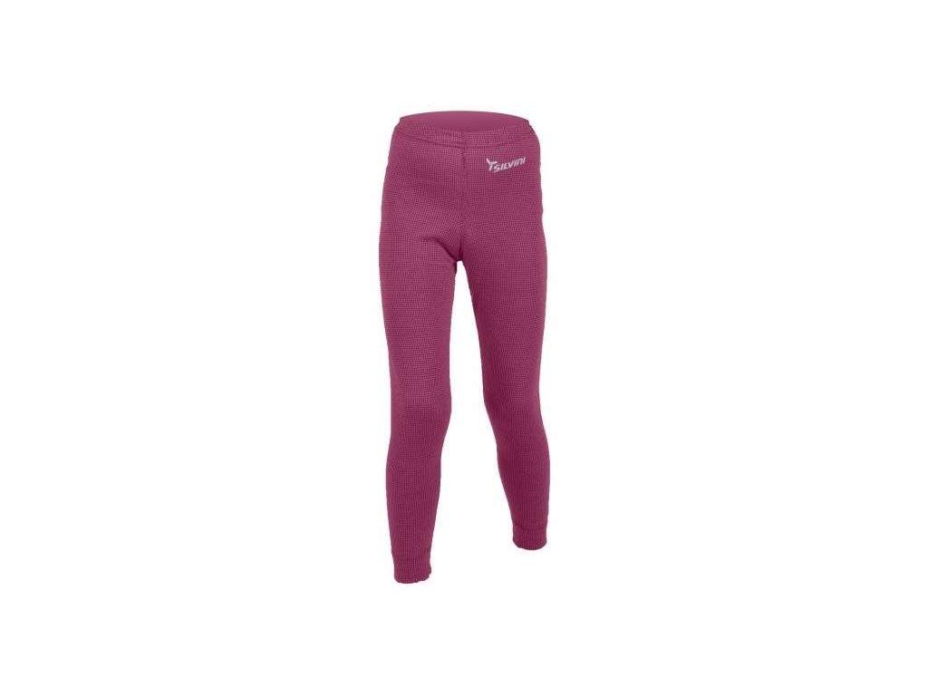 SILVINI dětské funkční kalhoty dlouhé PRIMO CP277 purple