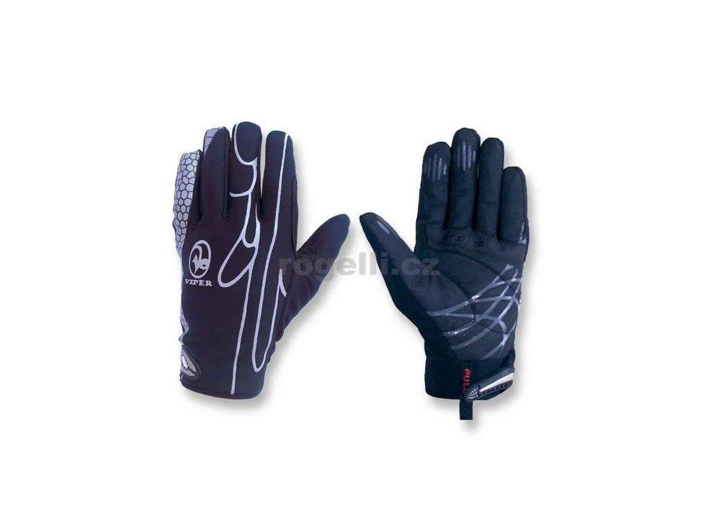 VIPER -5°C - +10°C - zimní sportovní rukavice, černé