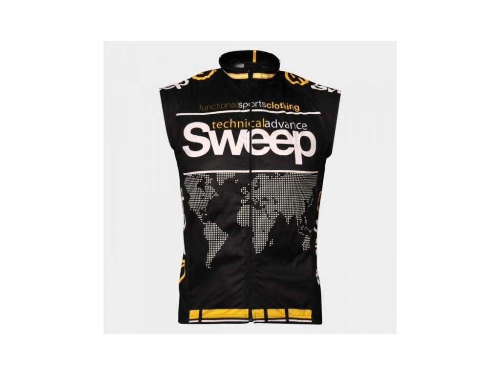 vesta SWEEP černá 100%polyester