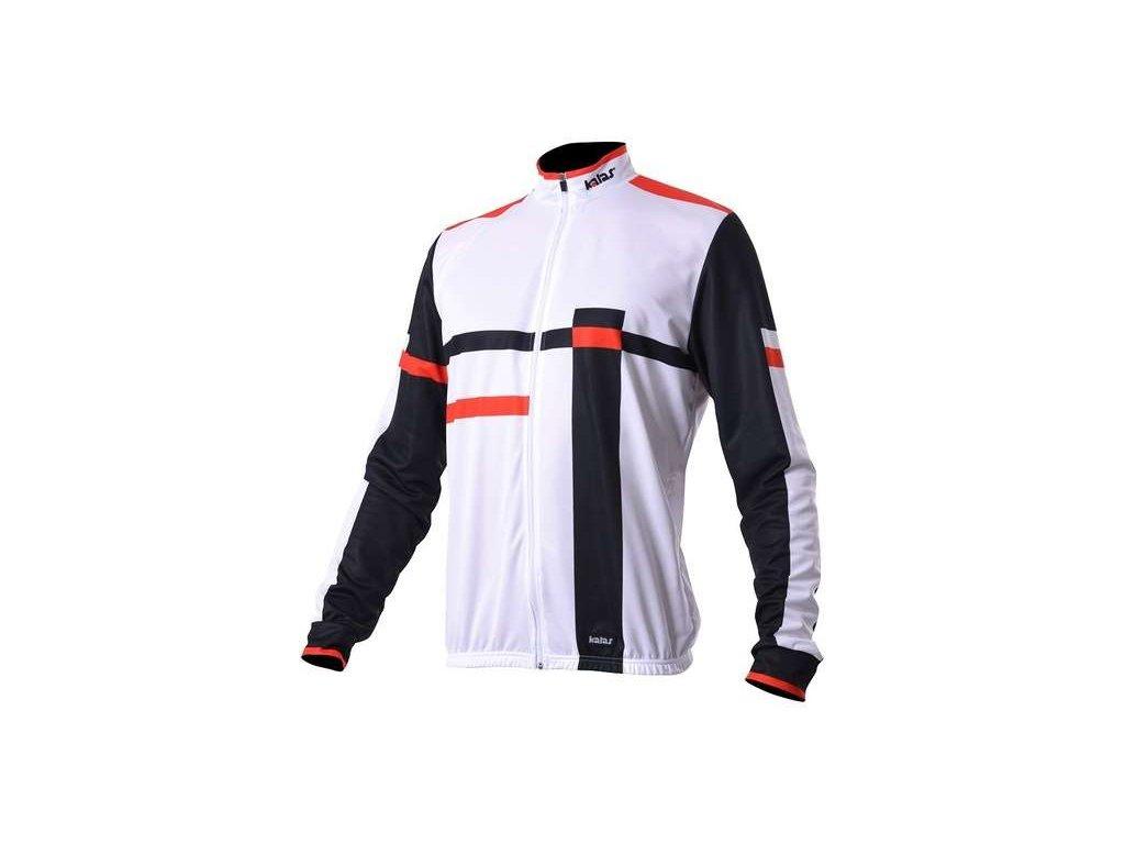 Cyklistická bunda MTB URBAN 12 bílý