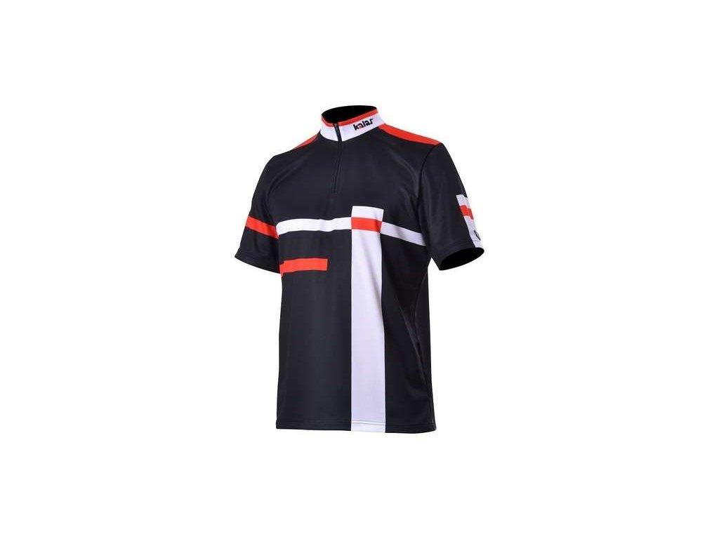 Cyklistický dres krátký rukáv MTB URBAN 12 černý