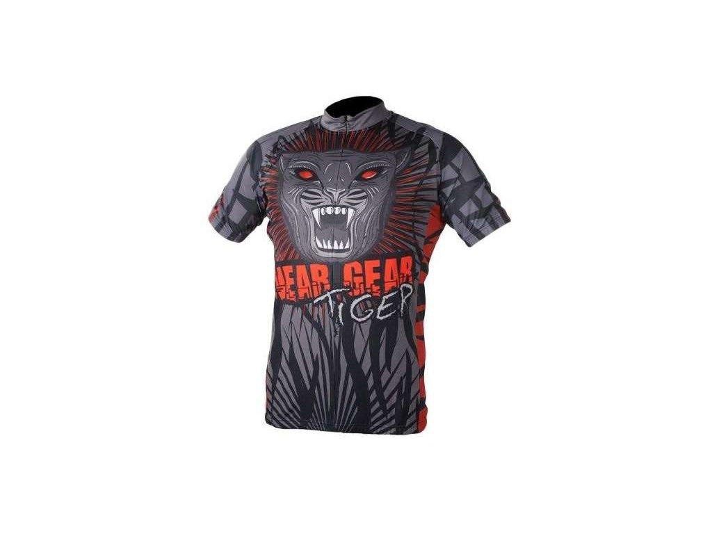 cyklistický dres Wear Gear Tiger