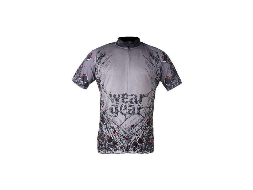 cyklistický dres Wear Gear Spider