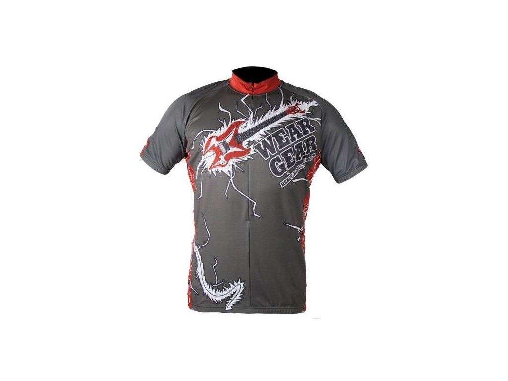 cyklistický dres Wear Gear Rock