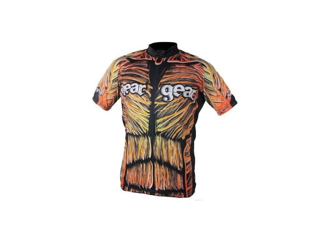cyklistický dres Wear Gear Muscles colour