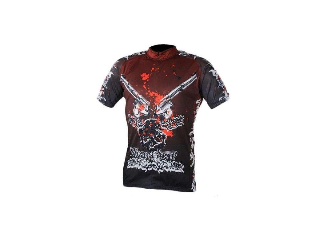 cyklistický dres Wear Gear Guns