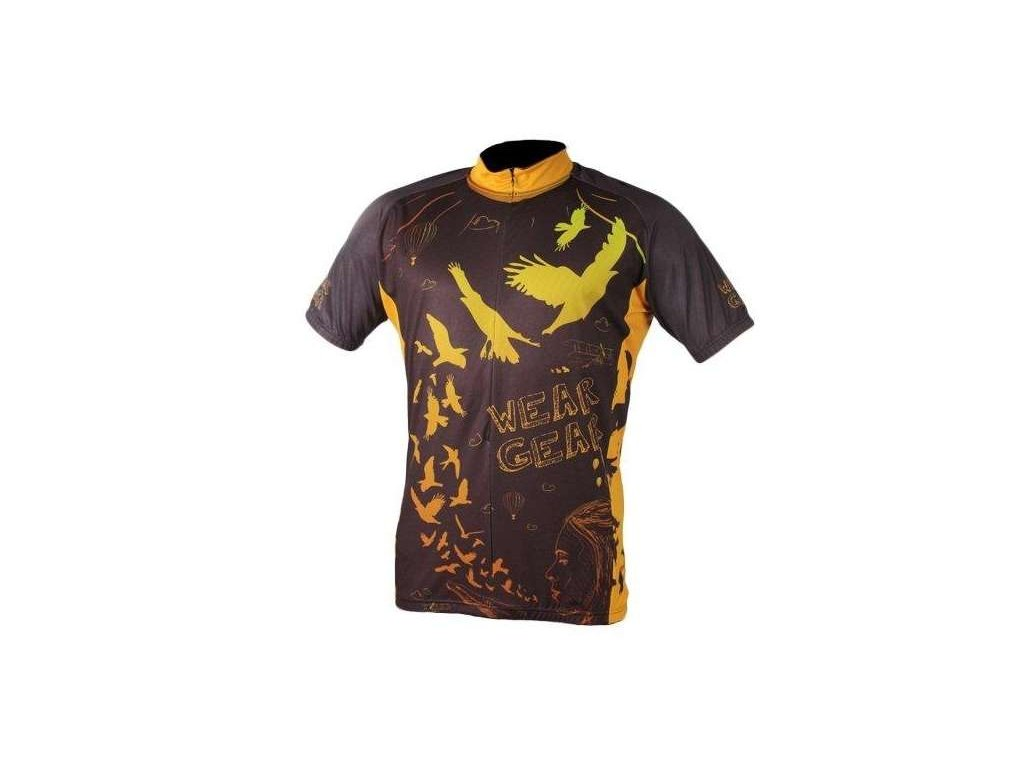 cyklistický dres Wear Gear Bird