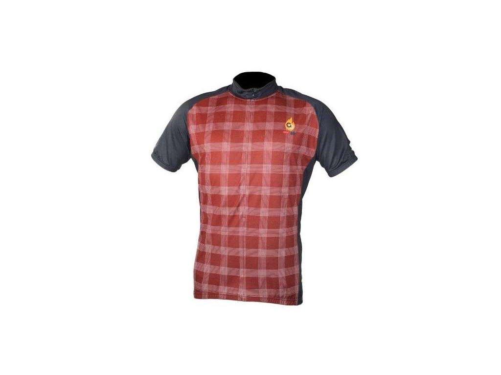 cyklistický dres Wear Gear Adrenaline Junkies red