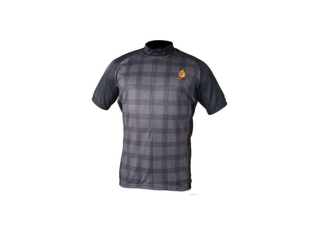 cyklistický dres Wear Gear Adrenaline Junkies grey