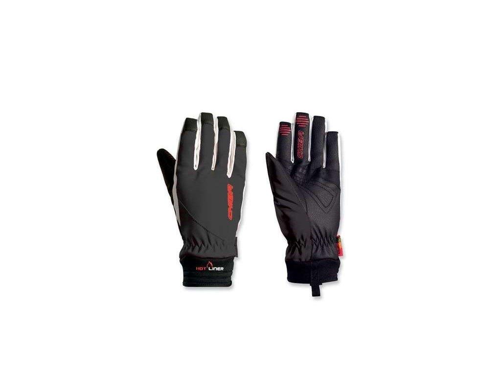 LADY WATERPROOF -5°C - +10°C - dámské zimní cyklo rukavice, černé