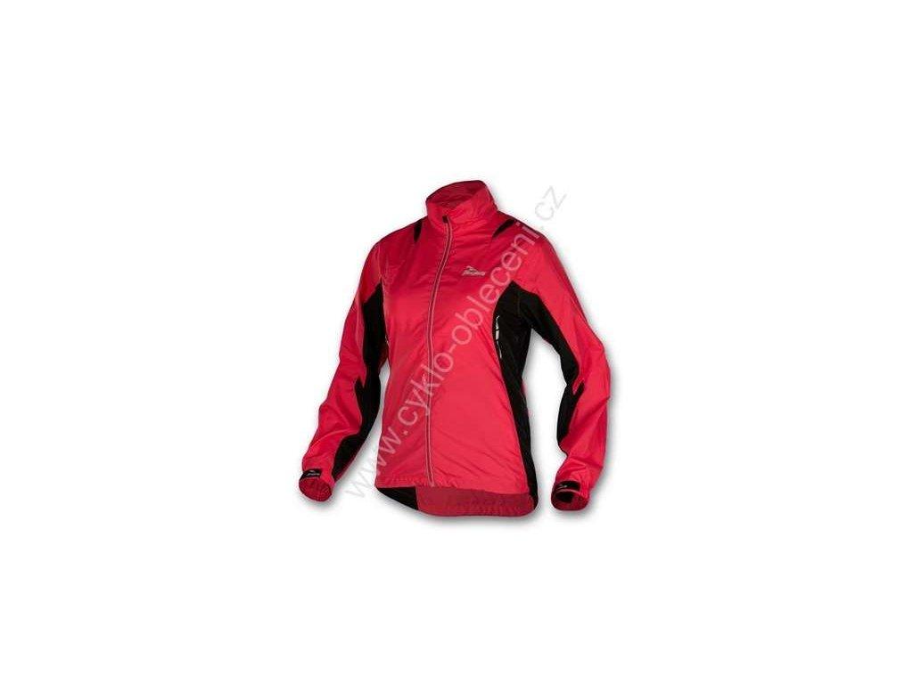 ROGELLI dámská běžecká větrovka GILMER - růžovo-černá, vel.S