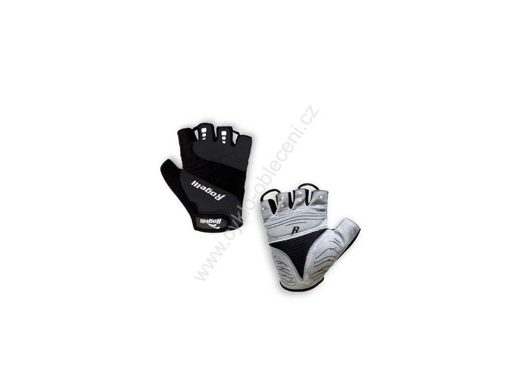 Letní cyklistické rukavice PHOENIX - černé
