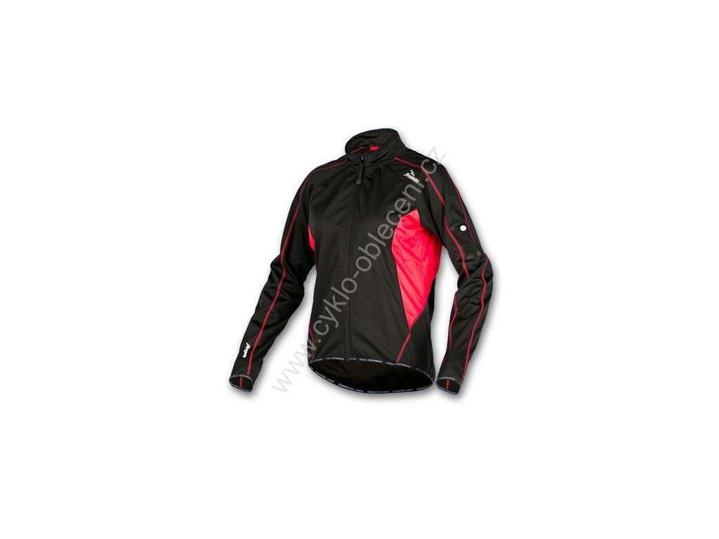 ROGELLI zateplená dámská  sportovní bunda APRILLIA - černá