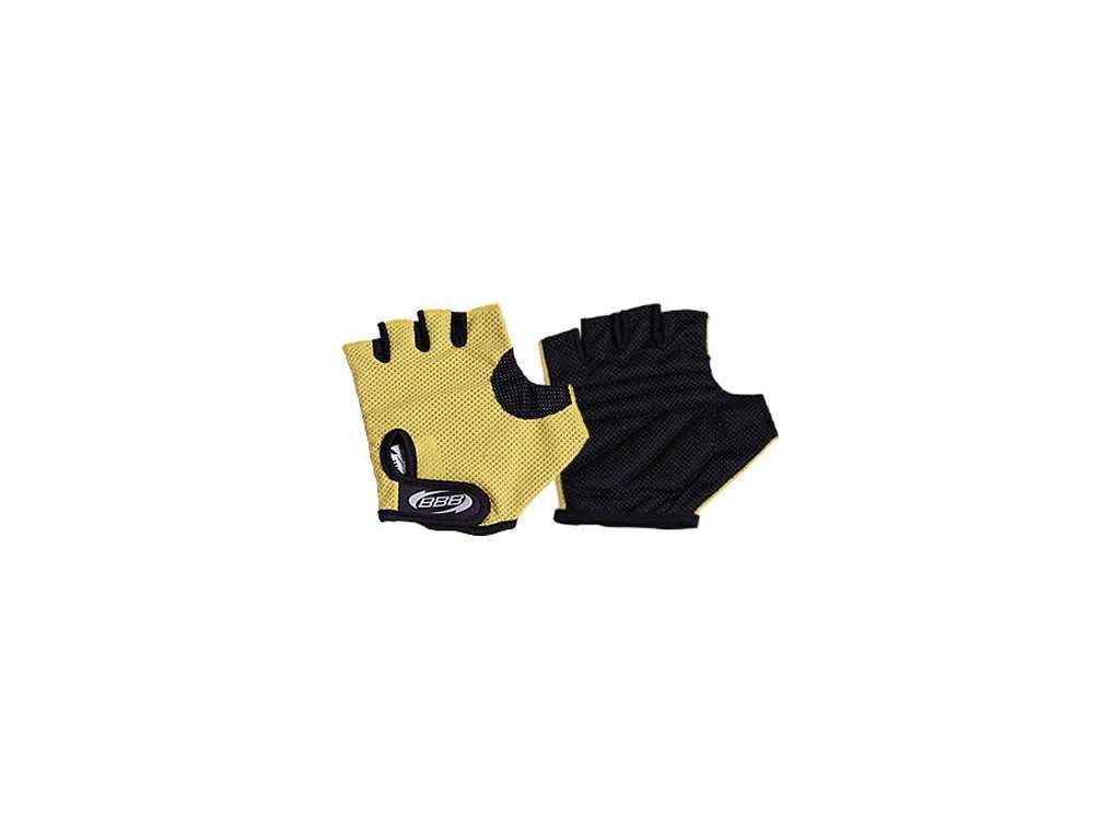 rukavice BBB Cooldown žluté