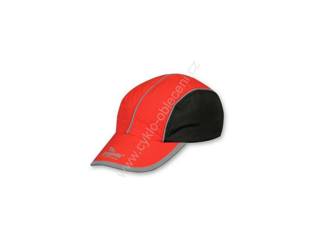 Vzdušná sportovní kšiltovka Rogelli - červená