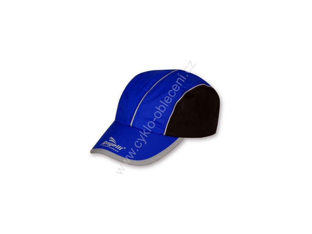 Vzdušná sportovní kšiltovka Rogelli - modrá
