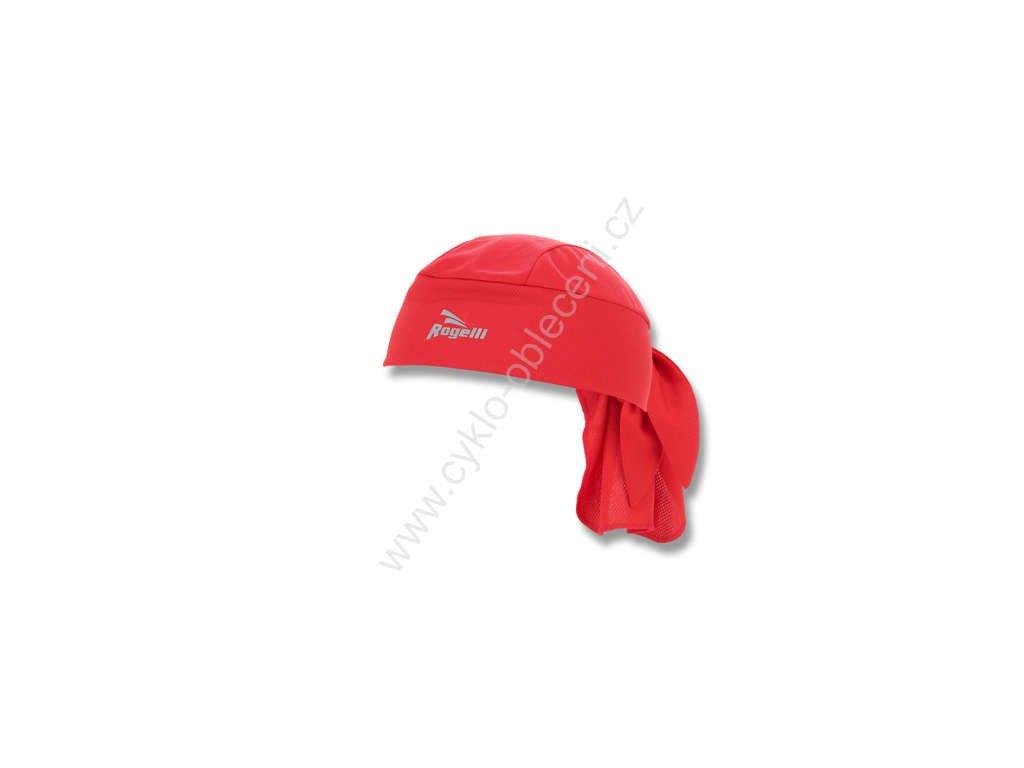 Zavazovací cyklošátek Rogelli BANDANA - červený