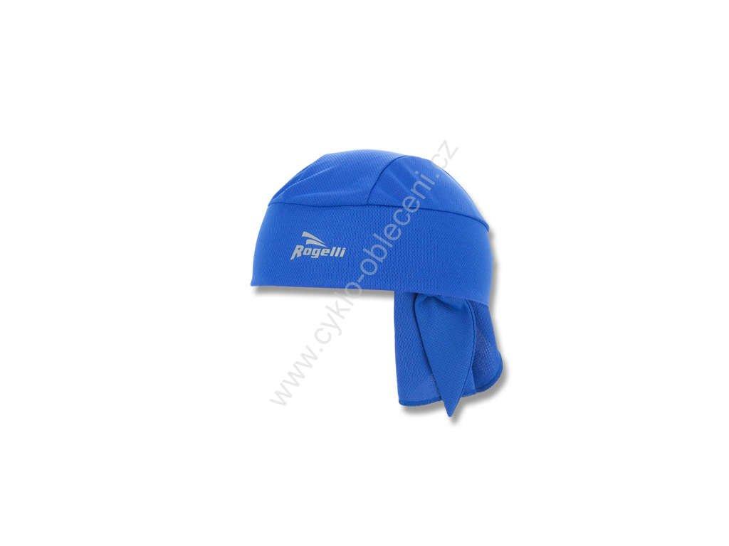 Zavazovací cyklošátek Rogelli BANDANA - modrý