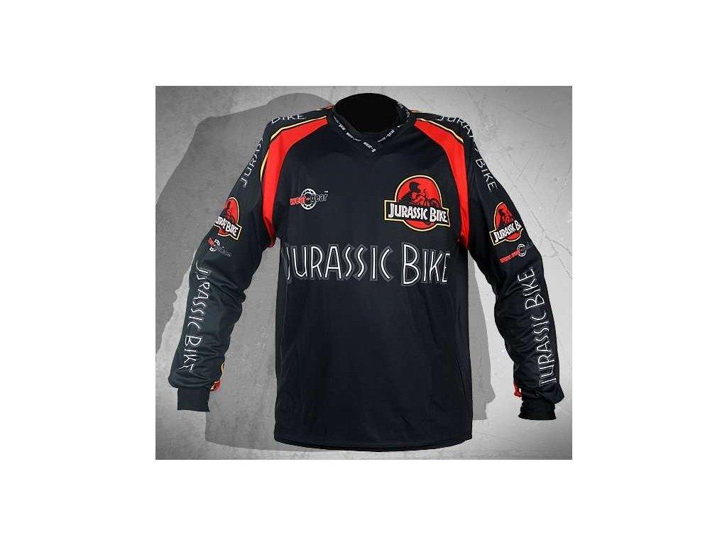Wear Gear FR/DH dres Jurassic Bike Black