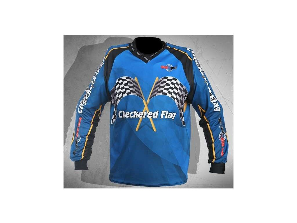 Wear Gear FR/DH dres Checkered Flag