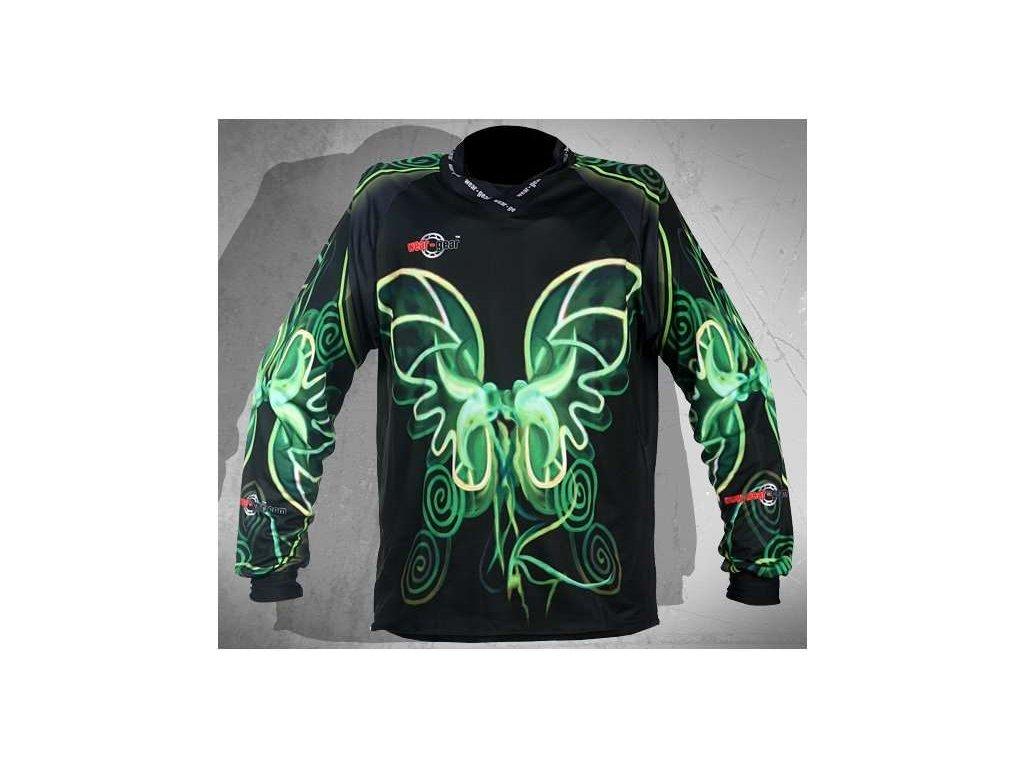 Wear Gear FR/DH dres Flying Neon