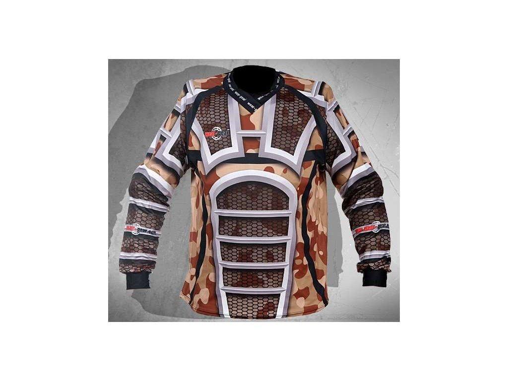 Wear Gear FR/DH dres Camo Desert